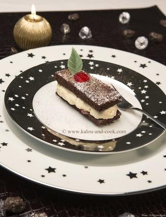 Recette de gâteau double chocolat et fève tonka