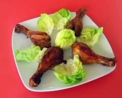 Recette pilons de poulet frits au four