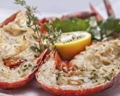 Recette homard en sauce