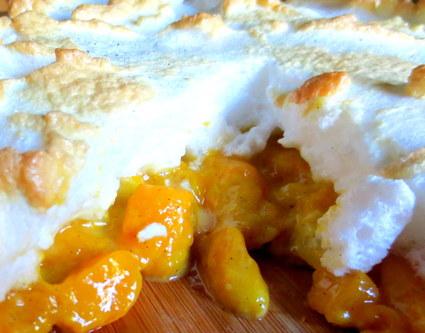 Recette de tarte soufflée mangue-ananas