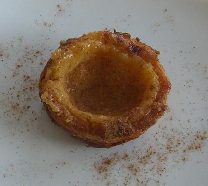 Recette de les véritables pasteis de belém