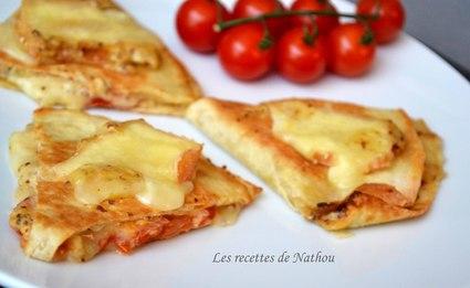 Recette de quesadillas aux maroilles, tomates et moutarde à l ...