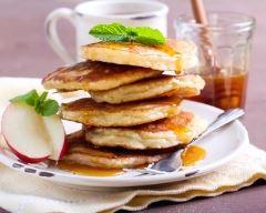 Recette pancakes pomme et sirop d'érable