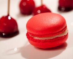Recette macaron pomme d'amour