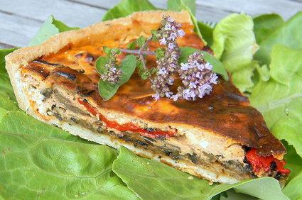 Recette de tarte estivale aux légumes grillés