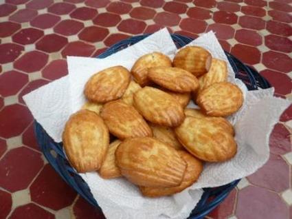 Recette de madeleines au beurre