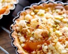 Recette tarte abricot façon crumble