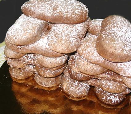 Recette de biscuits à la cuillère au chocolat