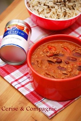 Recette de chili con carne aux haricots rouges