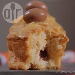 Recette muffin pomme poire et son cœur schoko