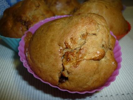 Recette de muffins pomme-cannelle