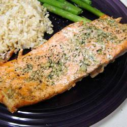 Recette saumon à l'ail et à l'aneth – toutes les recettes allrecipes
