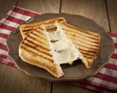 Recette panini au fromage de chèvre et mozzarella