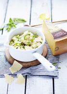 Recette de risotto vert crémeux au vacherin fribourgeois aop