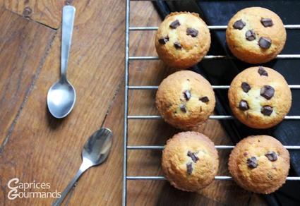 Muffins aux pépites de chocolat irrésistibles