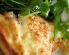 Recette tarte au camembert légère