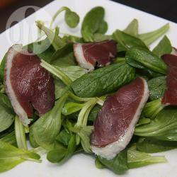 Recette salade de mâche aux magrets de canard – toutes les ...