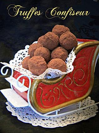 Recette de truffes confiseur