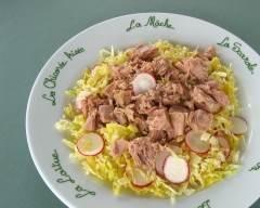 Recette salade de thon et chou