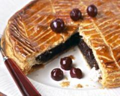 Recette galette des rois chocolat cerise