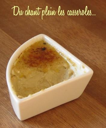Crèmes brûlées au foie gras caramélisées express