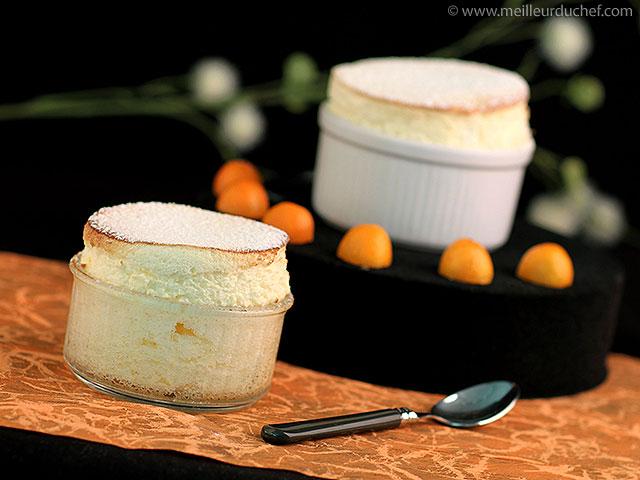 Soufflé aux kumquats  recette de cuisine  meilleurduchef.com