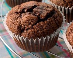 Recette muffins au chocolat et pépites de chocolat faciles