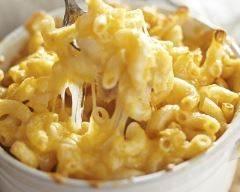 Recette macaronis au cheddar