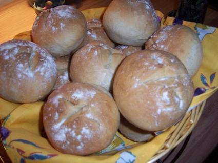 Recette de petits pains tout ronds