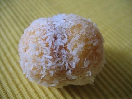 Recette de gâteau noix de coco confiture