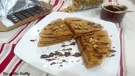 Recette de crêpes vanille ou chocolat sans oeufs au soja