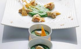 Genèse d'un plat sur le thème de l'huître pour 4 personnes ...