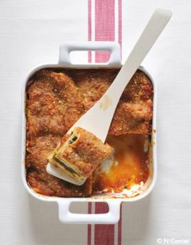 La chic : lasagnes saumon-poireaux pour 6 personnes