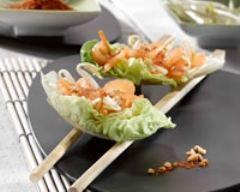 Recette salade croquante aux parfums d'asie