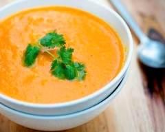 Recette soupe de carottes à la normande