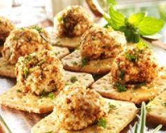 Recette crackers au fromage de chèvre frais en faisselle
