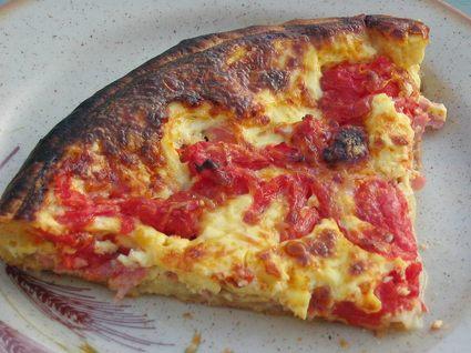 Recette de quiche jambon-tomates