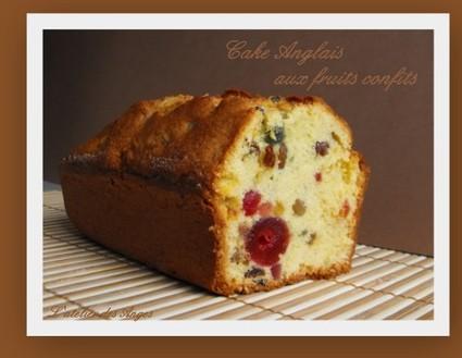 Recette de cake anglais aux fruits confits