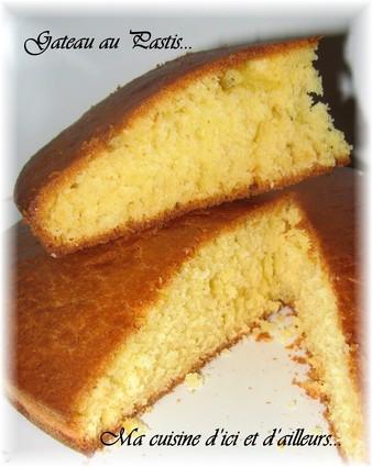 Recette de gâteau au pastis