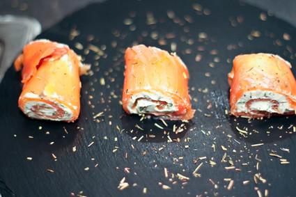 Recette de zakouskis au saumon