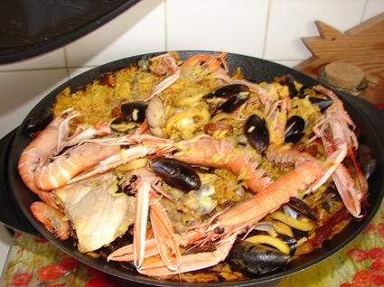 Recette de paëlla au wok