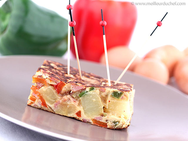 Tortilla  notre recette illustrée  meilleurduchef.com