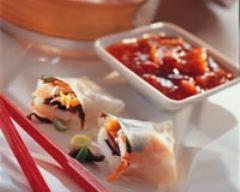 Recette raviolis de poisson sauce sésame
