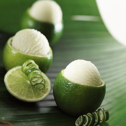 Recette de sorbet à l'ail en citron vert givré