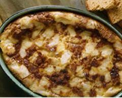 Recette clafoutis au pain d'épices et à la cassonade