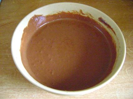 Recette de mousse au chocolat et au sucre glace