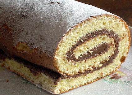 Recette de gâteau roulé au nutella