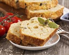 Recette cake au fromage et aux olives