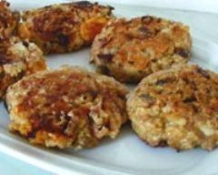 Recette galettes bio muesli aux flocons et fruits secs