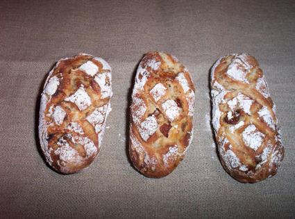 Recette de petits pains aux figues et noix